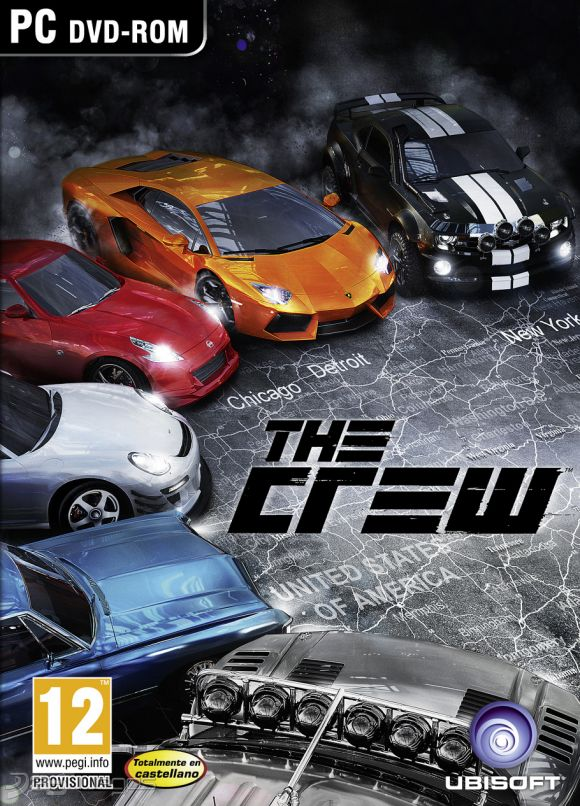 The Crew Gold pc dvd-ის სურათის შედეგი
