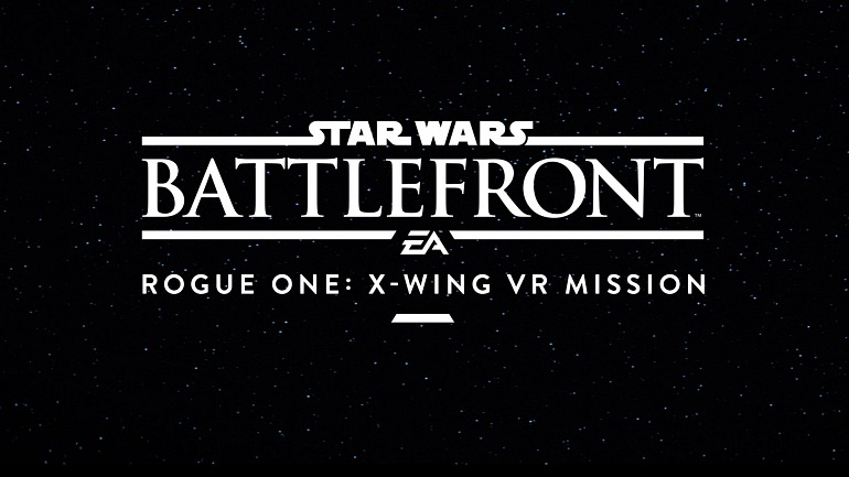 Star Wars: Battlefront Rogue One: X-Wing VR Mission