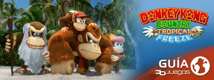 Guía DKC: Tropical Freeze