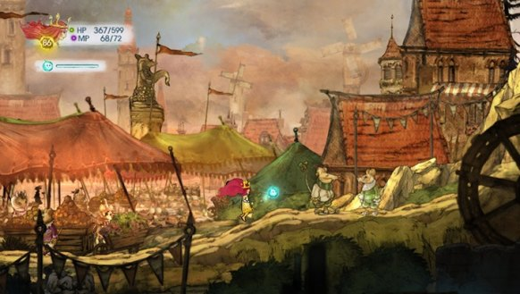 Child of Light Vita