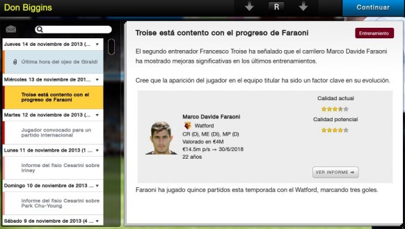 Football Manager Classic 2014 análisis