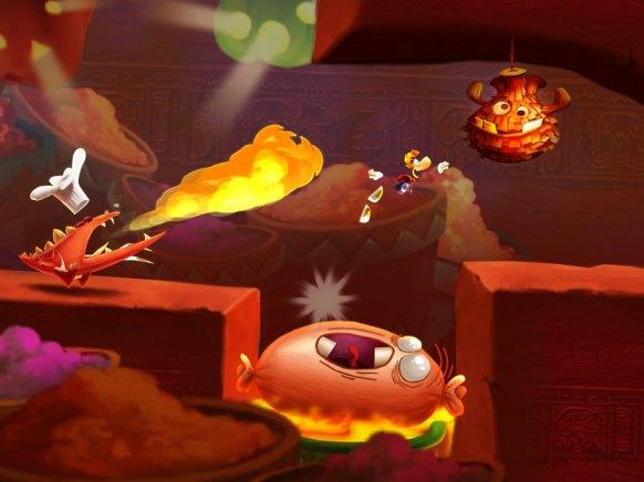 Rayman Fiesta Run iOS