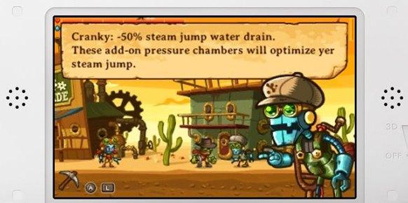 Steamworld Dig 3DS