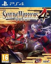 Carátula de Samurai Warriors 4 - PS4