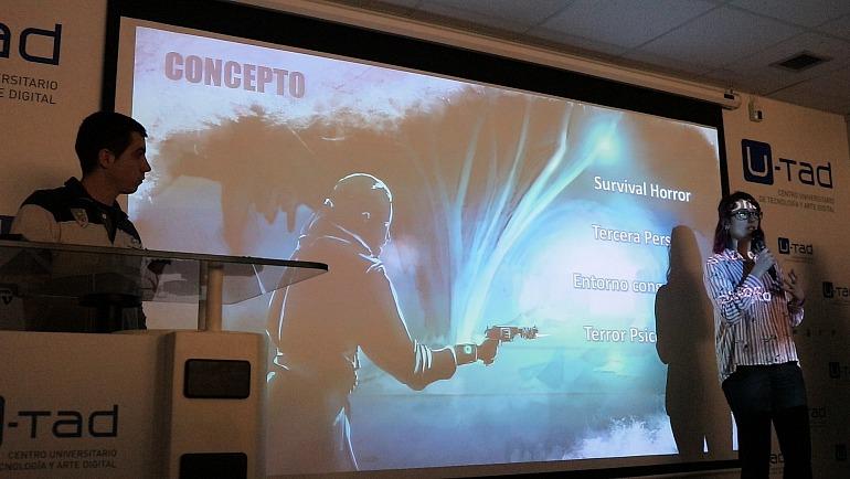 La U-Tad presenta los tres proyectos de su postgrado de videojuegos