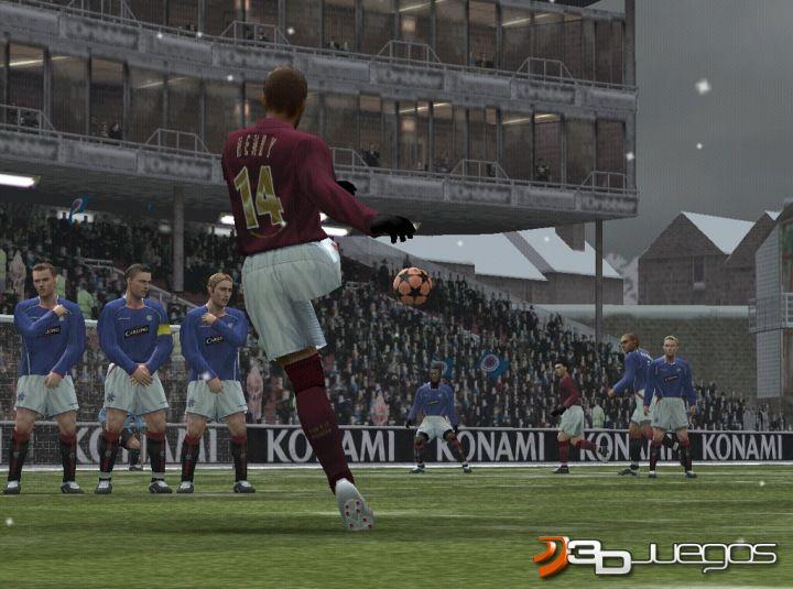 Pro Evolution soccer 5 Ps2 downloadable content