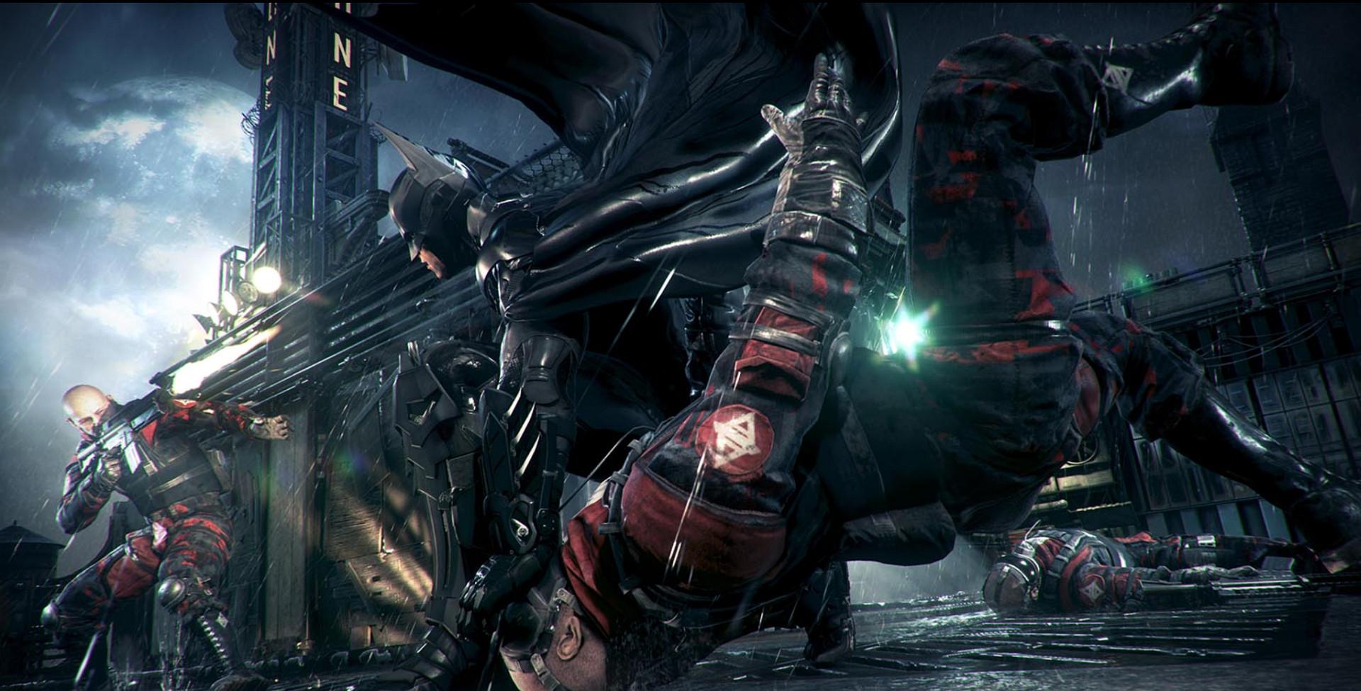 Batman Arkham Knight se luce en nuevas imágenes