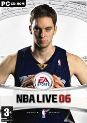 Carátula de NBA Live 06 - PC