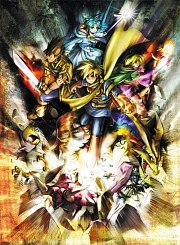 Carátula de Golden Sun - Wii U