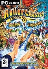 Carátula de Roller Coaster Tycoon 3: ¡Empapados! - PC