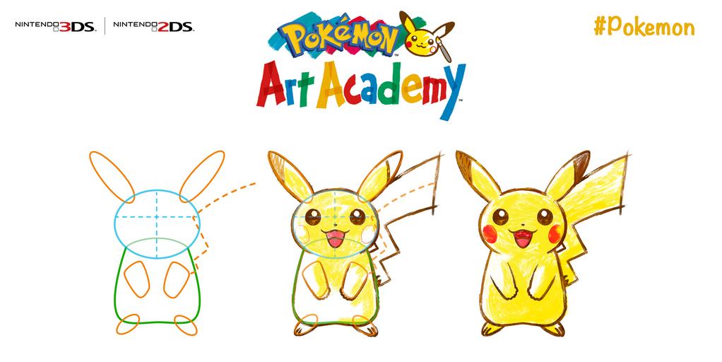 Pokémon Art Academy concreta su lanzamiento europeo el 4 de julio