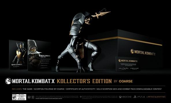 Kollector's Edition de Coarse (149,99$) PS4 y XOne
