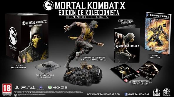 Edición de Koleccionista de Mortal Kombat X (119,99€) - PS4 y XOne