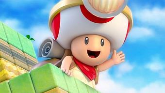 En Nintendo les gustaría recuperar Captain Toad