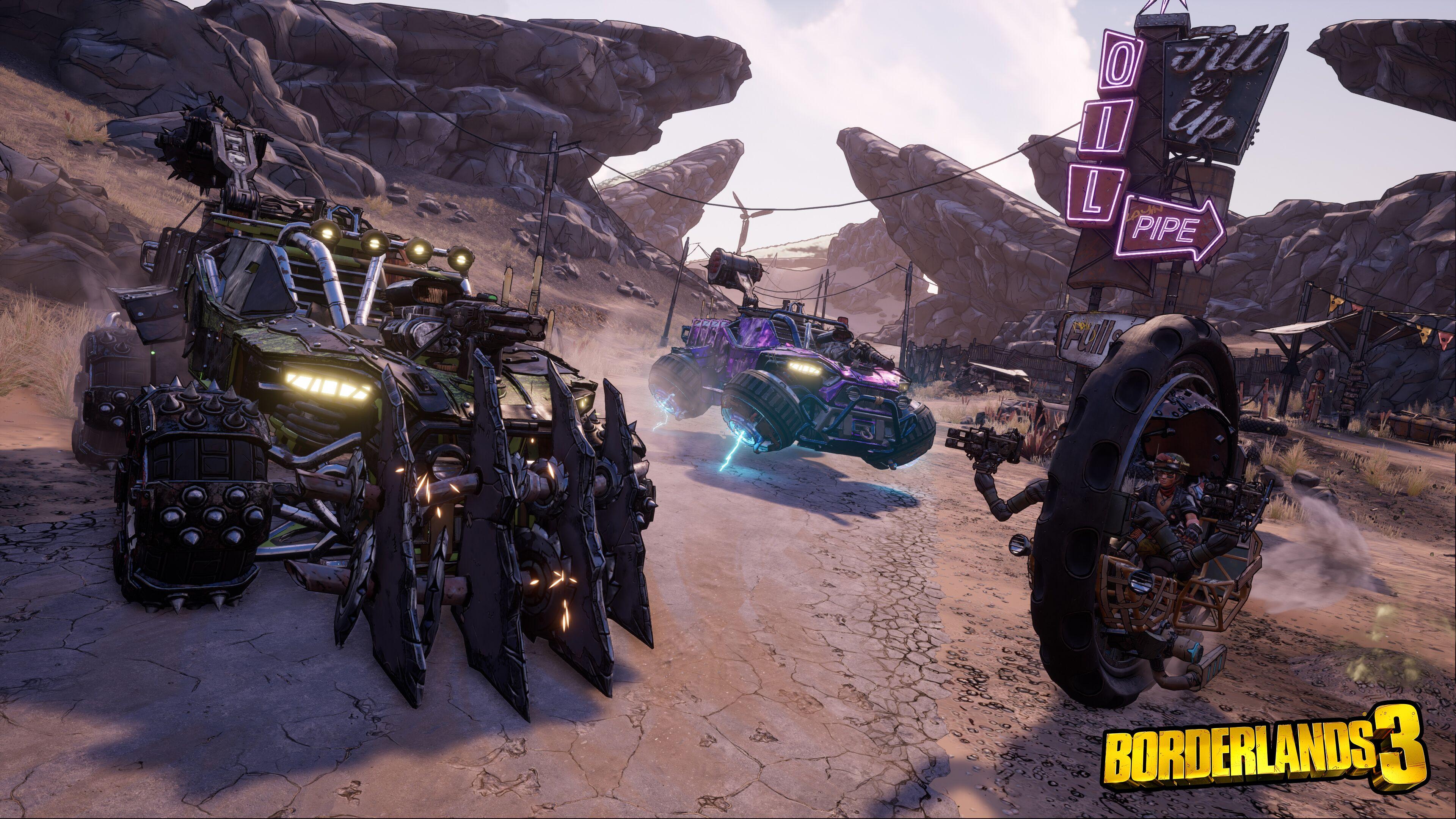 Borderlands 3 Presenta Los Primeros Detalles Del Tamaño De