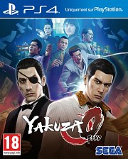 Carátula de Yakuza 0 - PS4
