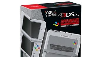 Nintendo 3DS XL SNES Edition anunciada