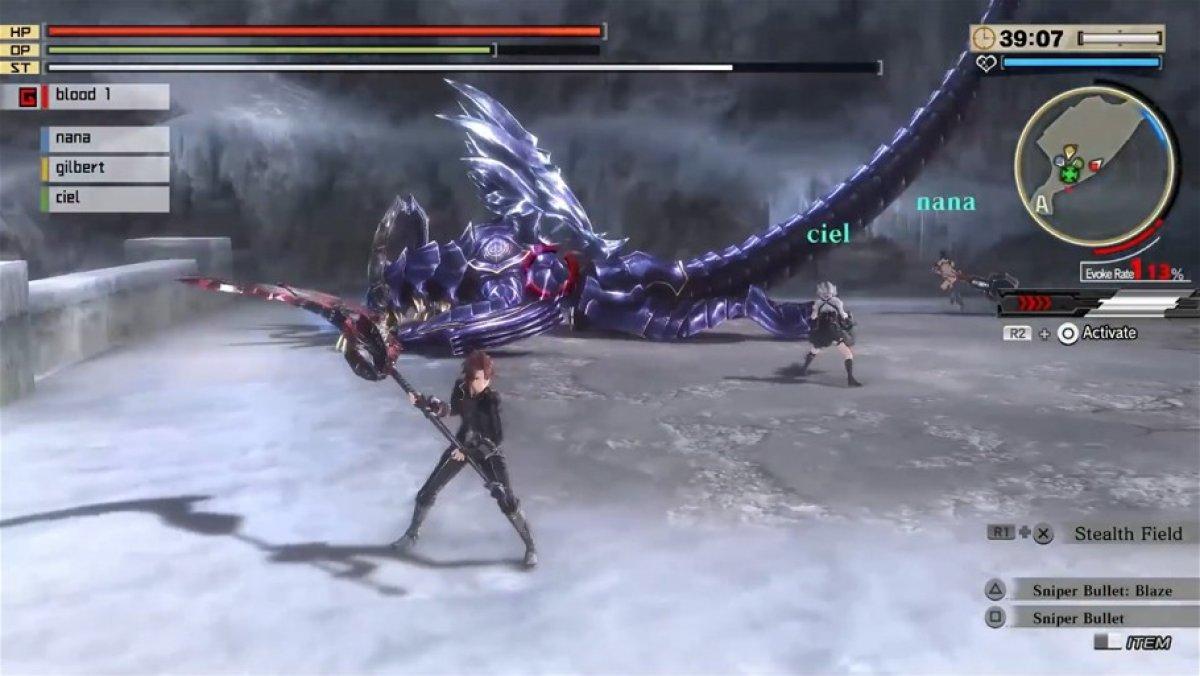 God Eater 2 Rage Burst: Gameplay: Blood Rage (PS4, PC, Vita)