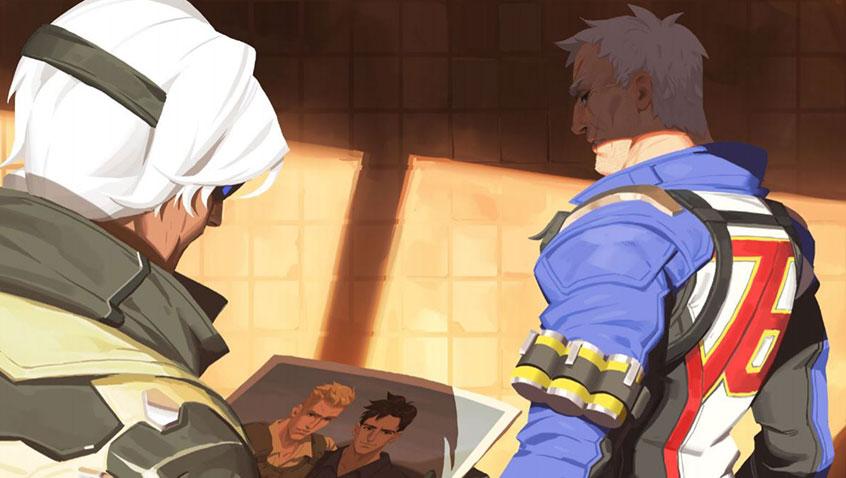 Una nueva historia revela que Soldier 76 es homosexual — Overwatch