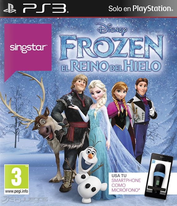 Disney Games For Ps3 : Singstar frozen para ps djuegos