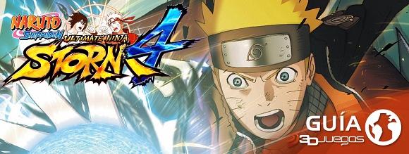 Guía Naruto Ultimate Ninja Storm 4