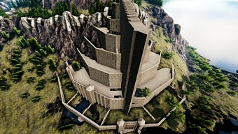 Un fan ha construído Minas Tirith en Ark: Survival Evolved