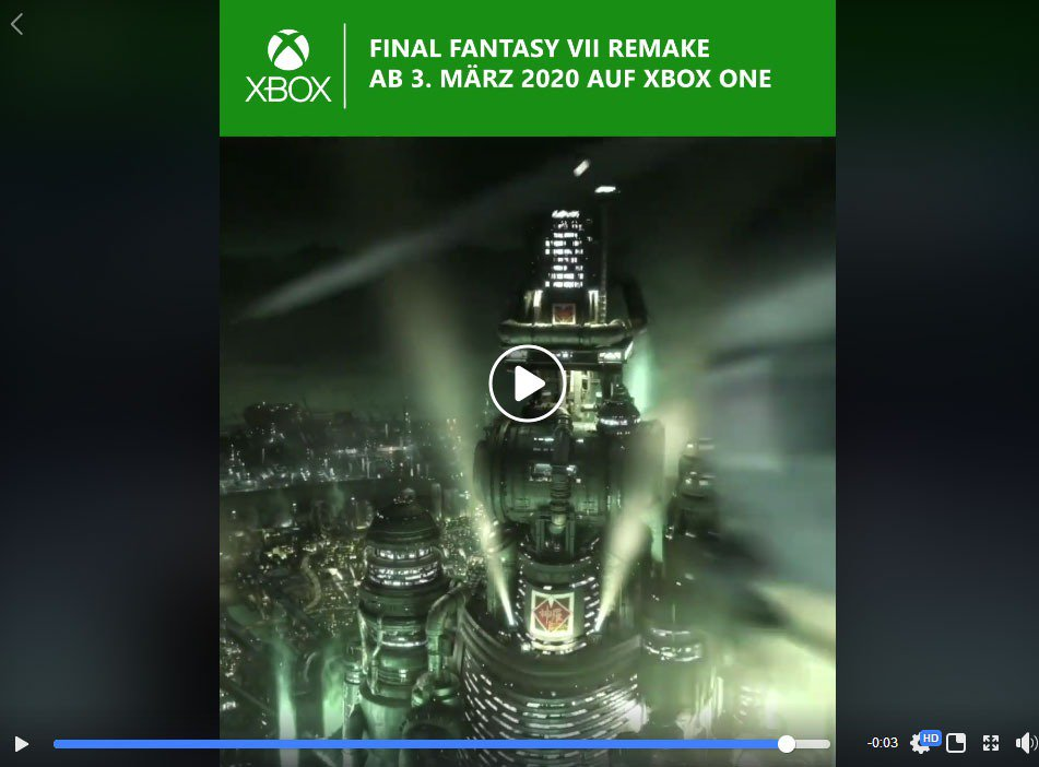 Final Fantasy VII Remake solo confirma su lanzamiento en PS4