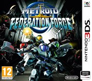 Carátula de Metroid Prime: Federation Force - 3DS