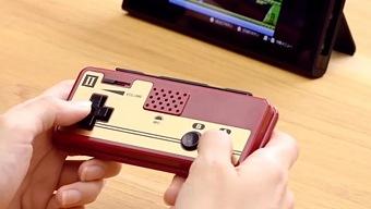 Así son los mandos de Famicom para Nintendo Switch en Japón