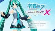 Carátula de Hatsune Miku: Project Diva X - Vita