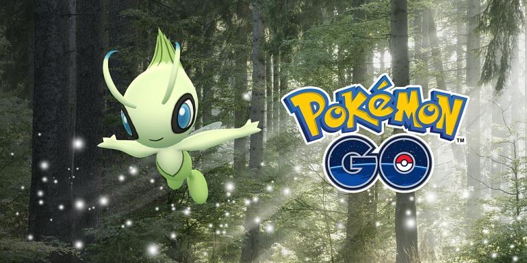 Pokémon GO encourages capture of Celebi and Regirock this week