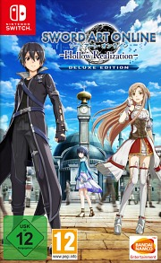Carátula de Sword Art Online: Hollow Realization - Nintendo Switch