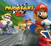 Carátula de Mario Kart 64 - Wii