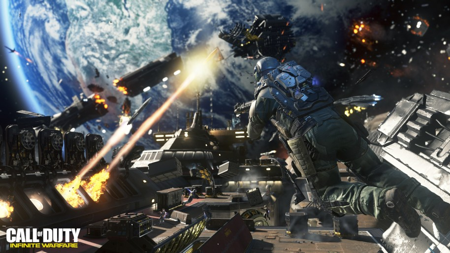 Call of Duty Infinite Warfare: Acción, espacio, gancho y multijugador