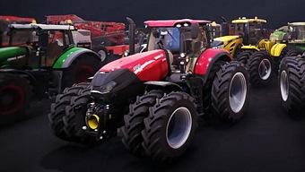 Video Farming Simulator 17, Garaje