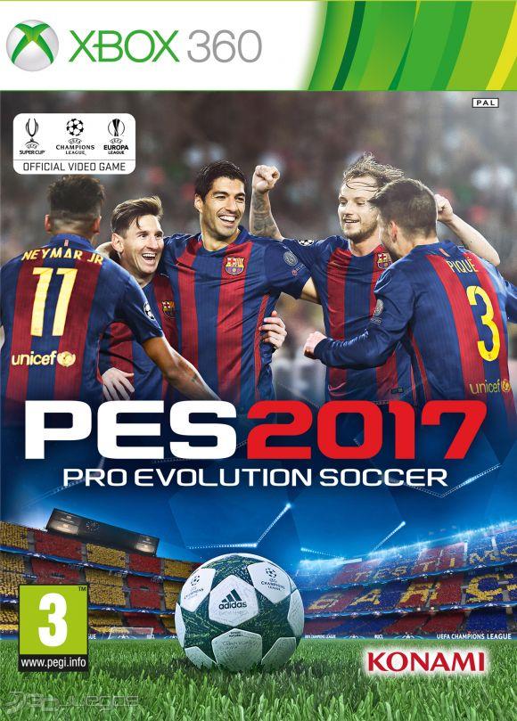 Descarga el juego de Pro Evolution Soccer 2017 [Demo][1,5GB] gratis para tu XBOX360