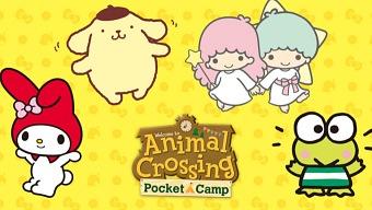 Habrá colaboración de Sanrio en el juego de Animal Crossing para móviles