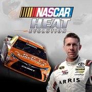Carátula de NASCAR Heat Evolution - PS4