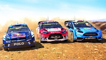 Video WRC 6, Multijugador a Pantalla Dividida