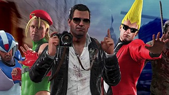Video Dead Rising 4: Frank's Big Package, Dead Rising 4 Frank's Big Package: Nuevo Modo: Capcom Heroes