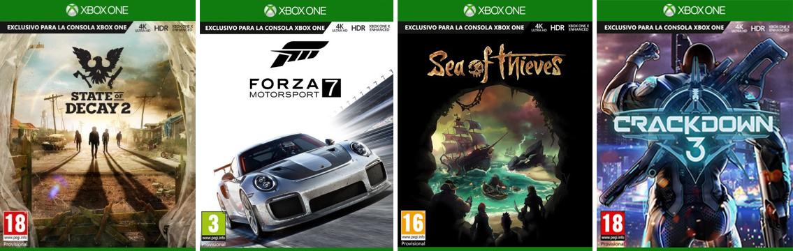 Microsoft Ensena Como Seran Las Cajas De Los Juegos De Xbox One X