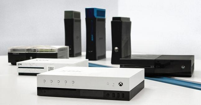 Imagen cortesía del portal Gamasutra de una de las consolas que utilizarán los creadores de juegos para Scorpio.