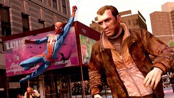 Spider-Man tiene un guiño a GTA IV