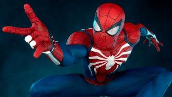 Esta estatua de Spider-Man de PS4 que cuesta 1.100 dólares te atrapará en su red