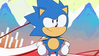 Video Sonic Mania, Introducción animada