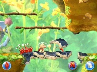Hey! Pikmin: Hey! Pikmin: Aventura 2D para 3DS
