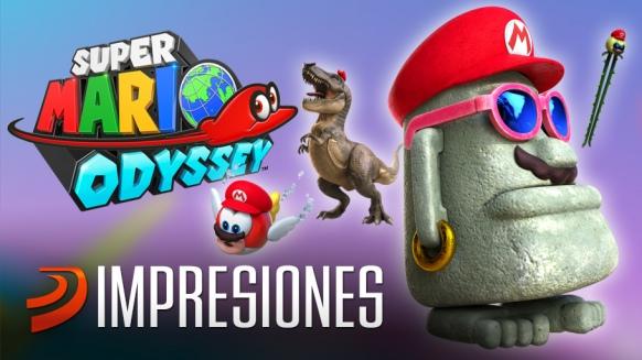 Artículo de Super Mario Odyssey