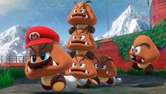 Super Mario Odyssey: la torre de Goombas más alta jamás creada