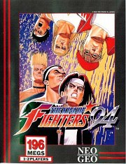 Carátula de The King of Fighters '94 - NeoGeo
