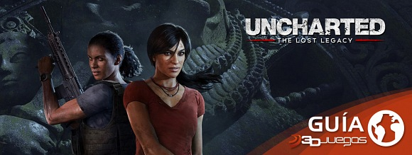 Guía Uncharted: The Lost Legacy